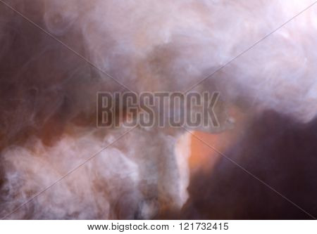 Smoky Abstract Background