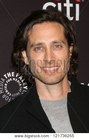 LOS ANGELES - MAR 12:  Brad Falchuk at the PaleyFest Los Angeles - Scream Queens at the Dolby Theater on March 12, 2016 in Los Angeles, CA