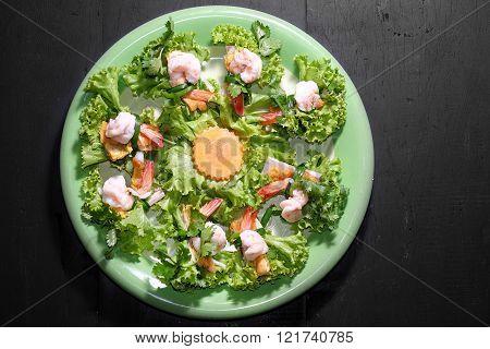 Sour Shrimp Salad
