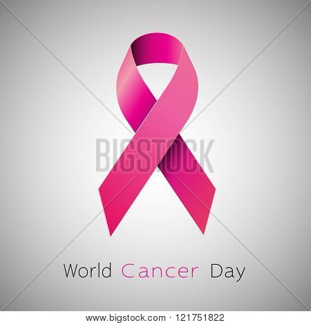 Cancer Awareness pink Ribbon.