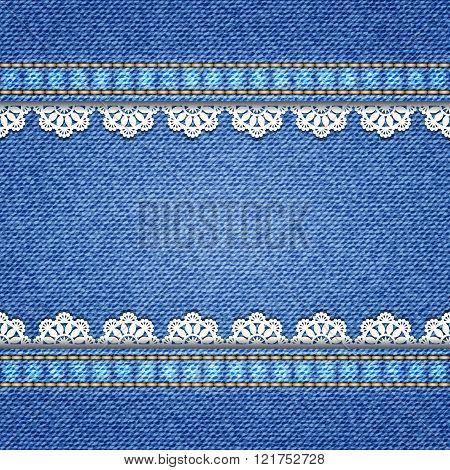 Denim Texture Background