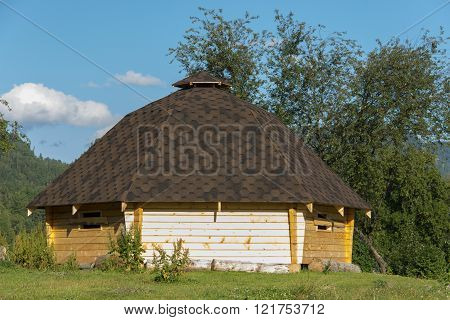 Altaic traditional house