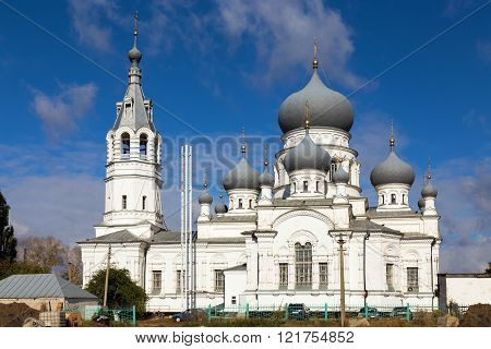 Church Of The Nativity. Anna. Russia