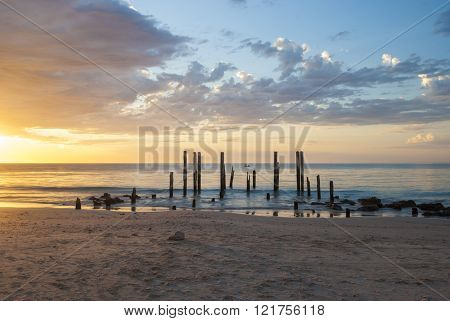 Port Willunga at Sunset