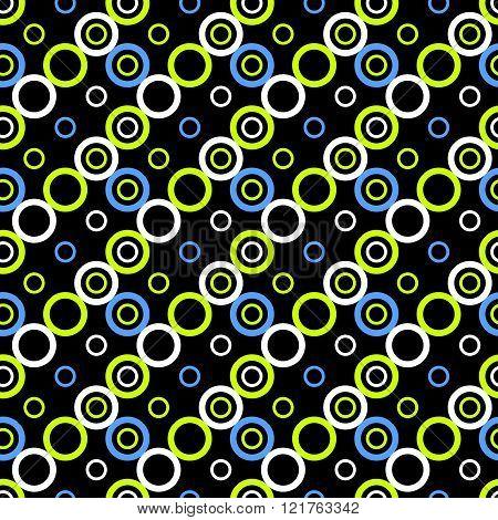 Beautiful Abstract Geometric Colorful Seamless Pattern