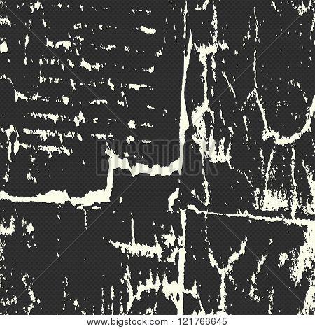 Bright Beautiful Graffiti Grunge Texture Abstract Background Vector Illustration