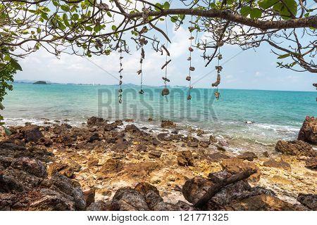 coast of the Koh Rang Isle of Ko Rang National Park, Koh Chang, Thailand