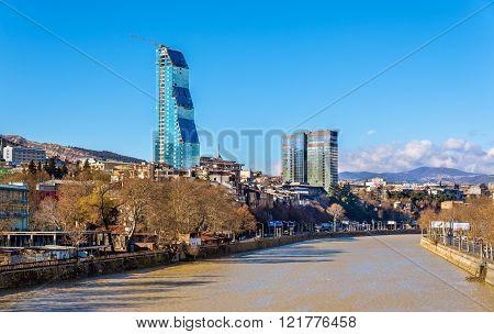Tbilisi with the Kura River - Georgia