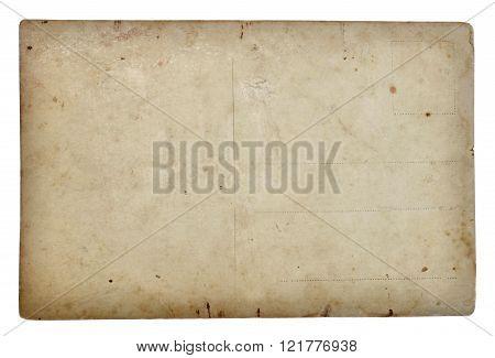 Vintage postal card