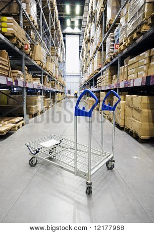 Large furniture warehouse's Shopping Cart
