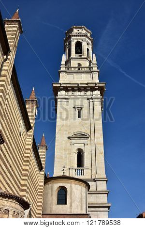Verona Cathedral (duomo) Beautiful Renaissance Belfry