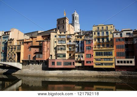 Girona - town in the north-east of Spain