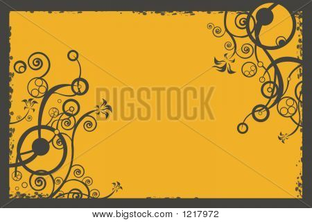 Floral Background, Illustration