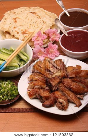 Chinese food,Beijing duck.