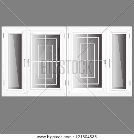 vector windows plastic