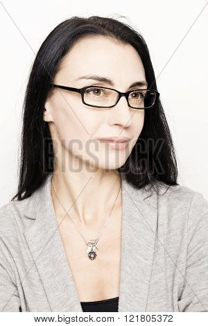 Attractive mature business woman