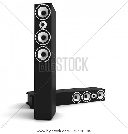 3d floor speakers