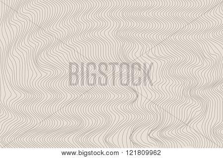 Wavy Stripes Vector Background