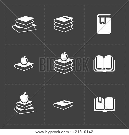 Modern Web Books set on Dark.