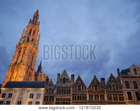 THE FAMOUS CITY OF ANTWERP IN BELGIUM
