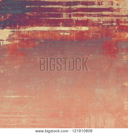 Art grunge background or texture. With different color patterns: yellow (beige); brown; red (orange); purple (violet); pink