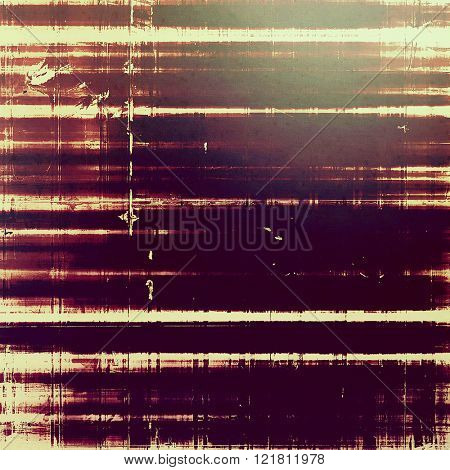 Background with grunge elements on vintage style old texture. With different color patterns: yellow (beige); brown; purple (violet); gray; pink