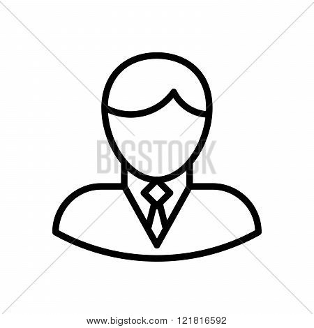 Businessman Outline Icon