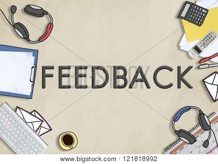Feedback Answers Faq Review Assessment Concept