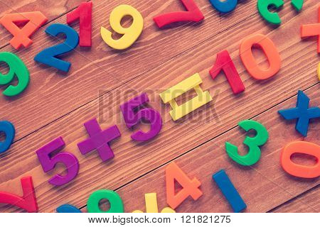Learning Math Calculation