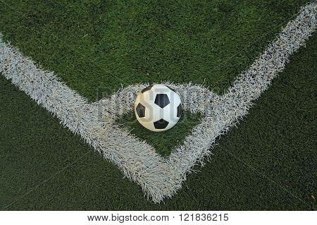 Football At The Corner