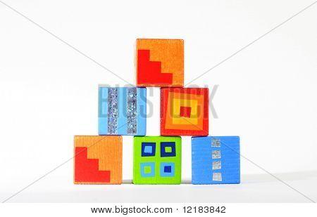 wood blocks