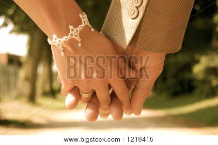 nehmen Sie meine hand