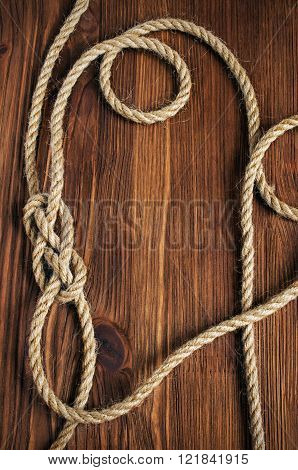 Nautical Wooden Background
