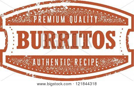 Authentic Mexican Restaurant Burritos
