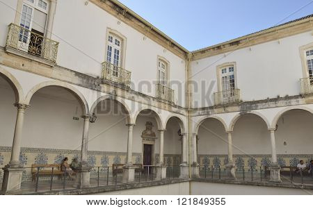 Patio Of Coimbra University