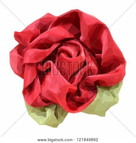 Flower Made from Fabric