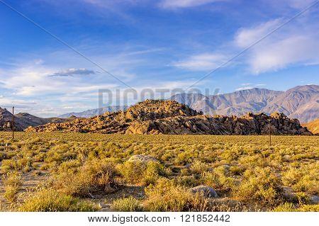 Alabama Hills Near Lone Pine, CA - Sierra Nevada