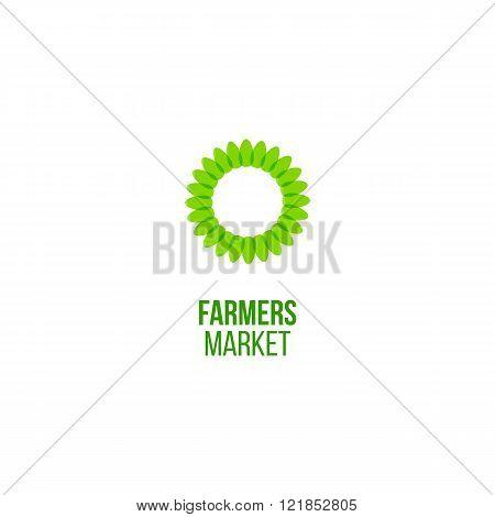 Farmers market emblem