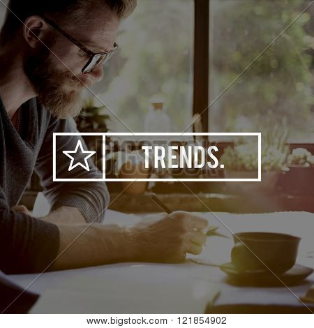 Trends Trending Trendy Style Fashion Design Concept