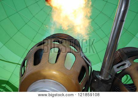 burner  of a hot air balloon