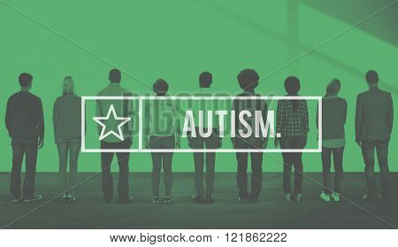 Autism Autistic Mental Health Disorder Psychiatry Concept