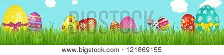 Happy Easter web banner