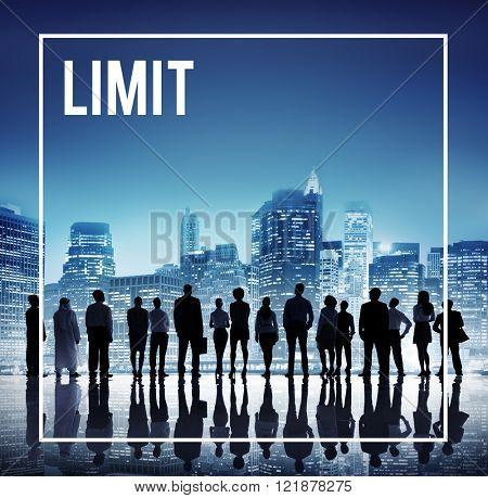 Global Business Team Limit Cityscape Concept