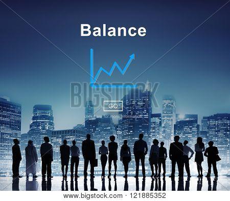 Global Business Team Balance Concept