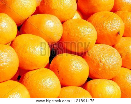 Clementines on bazaar in Tel Aviv Israel