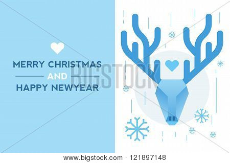 Dear New Year Card