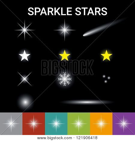 Sparkle Stars Effect