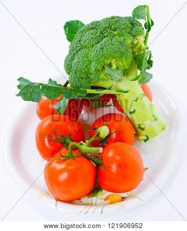 healty food tomato and cauliflower italian original