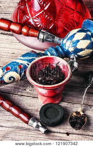 Preparation Of Hookah Smoking