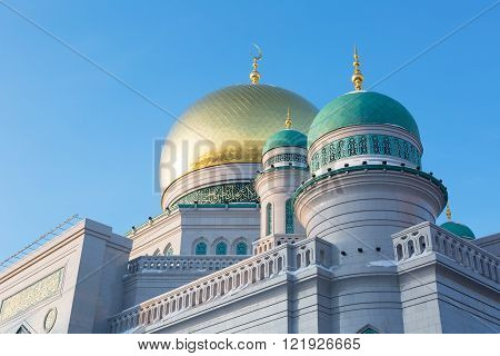 Moscow Mosque Russia -- the main mosque in Moscow